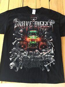 XL Monster Truck Grave Digger Shirt