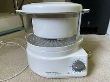 New ListingBlack & Decker Hs800 Flavor Scenter Handy Steamer and Rice Cooker