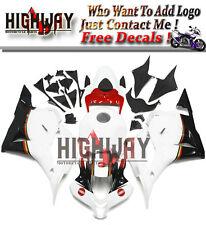 Fairings For Honda CBR600RR F5 09-12 Injection Fairing Kit White Red Black Hulls