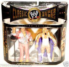 WWE Jakks Pacific Classic SuperStars Freddie Blassie Hulk Hogan Figure Set!
