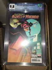 Black Panther and the Agents of Wakanda #4 CGC 9.8 2020 variant
