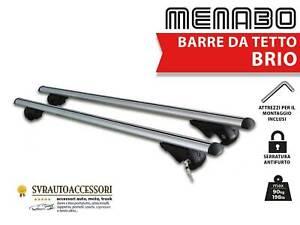 Barre Portatutto Portapacchi per FORD FOCUS SW 2004>2011 Brio 120 cm Menabo'
