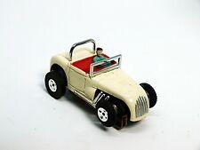Vintage Aurora Thunderjet 1932 Ford Hot Rod Roadster White/Red W/Rollbar