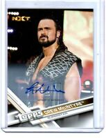 WWE Drew McIntyre 2017 Topps Then Now Forever Authentic Autograph Card SN 87/99