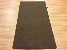 Crucial Trading Moscow Chocolate Brown Wool Carpet Runner Rug XL 107x200cm 60%OF