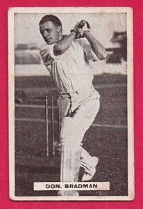 "1932 Sweetacres ""Sports Champions"" Confectionary Card: DON BRADMAN  #48"