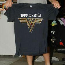 Vintage Van Halen 1980 Invasion Us Concert T Shirt Reprinted Size S to 3Xl