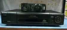 Raro! Sony Slv-e810 Hi-fi Stereo VCR VHS VIDEOREGISTRATORE PRO 4 HEADS SHOWVIEW