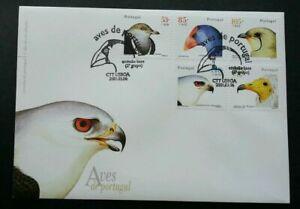 [SJ] Portugal Birds 2001 Aves Prey Wildlife Fauna (stamp FDC)