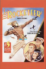 1985 DAVE STEVENS ART THE ROCKETEER ORIGINAL COMIC PROMO POSTER BETTIE PAGE RARE