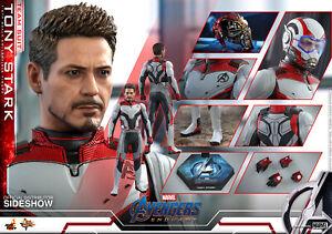 Hot Toys Marvel Avengers Endgame Tony Stark Team Suit Sixth Scale Figure MMS537