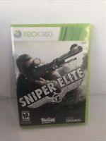 Xbox 360 Sniper Elite V2 Video Game - Great Condition- Tested-FREE SHIPPING!
