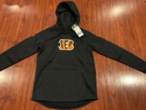 Under Armour Women's Cincinnati Bengals Combine Hoodie Sweatshirt Small S NFL
