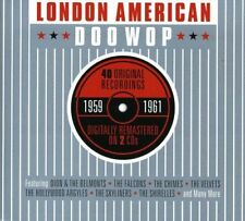 LONDON AMERICAN DOO WOP NEW 2CD 40 Originals Dion,The Shirelles,Drifters, + More