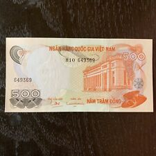 Vietnam Banknote - 500 Dong - 1970 - Free Shipping