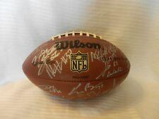 2003 Green Bay Packers Team Signed Football, Donald Driver, Chatman, Rivera, Mor