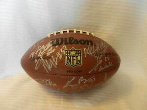 2003 Green Bay Packers Team Signed Football, Donald Driver, Chatman, Rivera, Mor