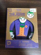 DC Comics The Joker Painted Wooden Figure Loot Crate