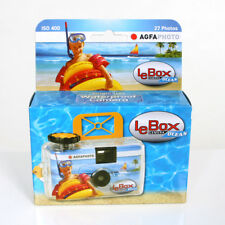 AgfaPhoto LeBox Ocean 400 Disposable Camera with Flash (27 Exposures)