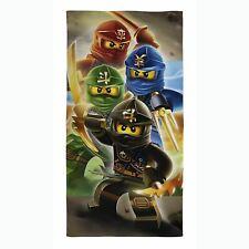 Lego Ninjago Quadrant Serviette 100% Cotton Bain Plage pour Enfants Neuf