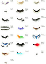 NYX Special Effects Eye Lashes x 10 sets - Assorted styles  New - Boxed