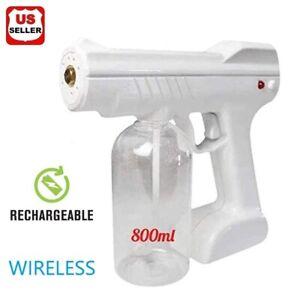 800ML Portable Blue Light Nano Steam Spray Gun Sprayer Machine Large Capacity US
