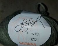 SKEIN/BALL OF (DISCONTINUED) SAVANNA YARN BY GGH ~ COLOR #021 OLIVE GREEN