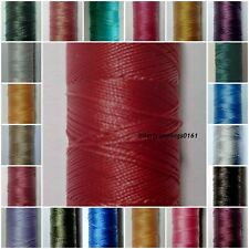 STRONG BONDED NYLON THREAD 40'S, 180MTR SPOOL, UPHOLSTERY ETC, CHOOSE COLOUR