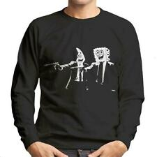 Spongebob And Patrick Pulp Fiction Men's Sweatshirt