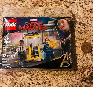 Lego Captain Marvel and Nick Fury