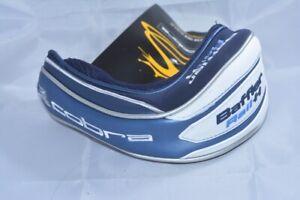 NEW Cobra Baffler Rail H hybrid rescue blue/white headcover golf head cover