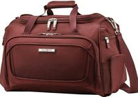 """Samsonite Silhouette 16 Soft 18"""" Travel Tote Bag Carry On Hand Luggage Cabernet"""