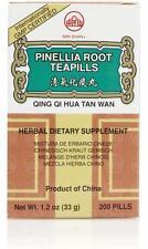 Min Shan, Qing Qi Hua Tan Wan, Pinellia Root Teapills, 200 ct