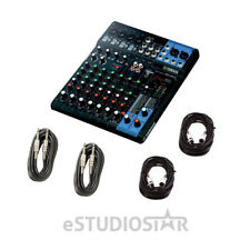 Yamaha MG10XU 10-Input Mixer w/Built-In FX and 2-In/2-Out USB Interface w/Cables
