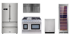 """Thor Pro Appliance Package with 48"""" All Gas Range & Wine Cellar"""