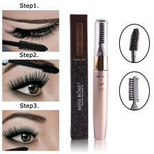 Hot Black Multi-fuction Waterproof Eyelash Mascara Extension Fiber Long Curling.