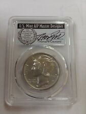 2017 $25 Palladium Eagle PCGS MS70 First Day of Issue Thomas Cleveland Vets #1