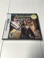 Lord of the Rings: Aragorn's Quest (DS, 2DS, 3DS, 2010) Brand New 774