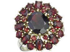 "Ring ""Granat"" 333er Gelbgold"