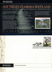 USA. 2006 Southern Florida Wetland (4099) . First Day Cover & Ceremony Program