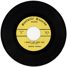 """MARVIO WILSON  """"I REALLY DO LOVE YOU c/w ONE NIGHT STAND""""   NORTHERN SOUL"""