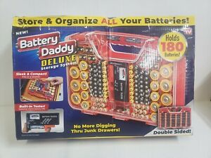 NEW! BATTERY DADDY DELUXE STORAGE SYSTEM.