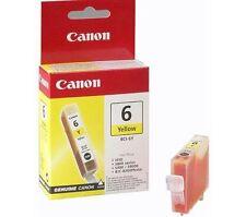 Genuine CANON BCI-6Y GIALLO Cartuccia inchiostro per Canon S800 S820 S900 S9000