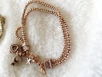 Premier Designs Jewelry  vintage bracelet RING HEART CROWN pendant bangl