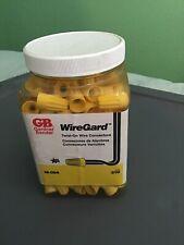 GB Wiregard Twist On Wire Connectors 1604,Electricity Splice Wires Yellow Copper