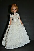 VINTAGE Madame Alexander BRENDA STARR 1964 Tag Gown Jewelry No Shoes NICE DOLL!