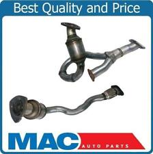 For 08-12 Malibu 3.6L Front & Rear Engine Flex Pipe Catalytic Converter Made USA