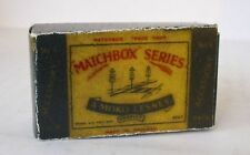 Repro Box Matchbox Accessory Pack A-4 Road Signs