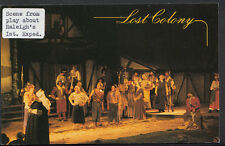 America Postcard - The Lost Colony, Roanoke Island, North Carolina  B2437