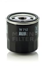 Filter, Arbeitshydraulik für Hydraulische Anlage MANN-FILTER W 712